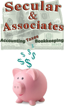 Secular & Associates: Accounting, Taxes, Bookkeeping